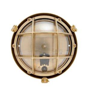 Onedin brass 60W E27 clear glass