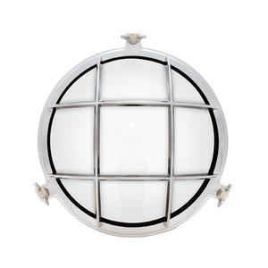 Stockholm chrome E14 opaque glass