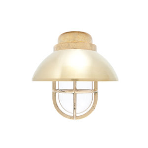 Koster brass 75W E27 removable shade clear glass