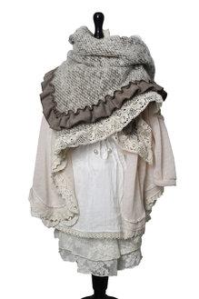 Hedvig scarf brown for children