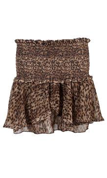 Kim kjol brun