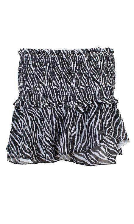 Kim skirt zebra