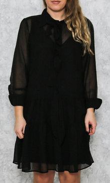 Rosetta dress black