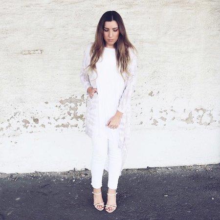 Tyra dress beige