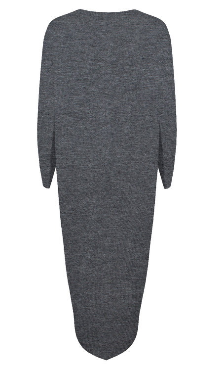 Louie v-neck grey