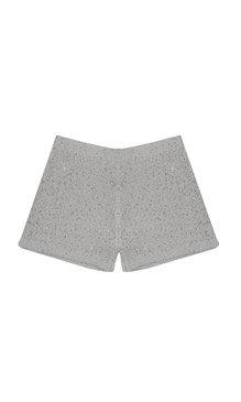 Dellie shorts ljusgrå