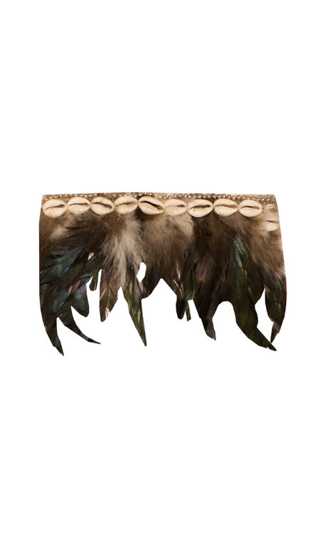 Bali feather bracelet