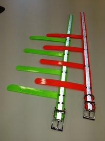 Biothanehalsband med reflex & flärpar