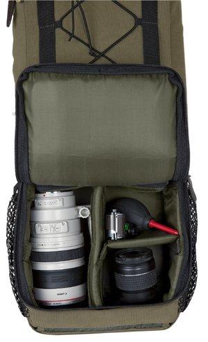 Härkila Slimpack med kamerahållare