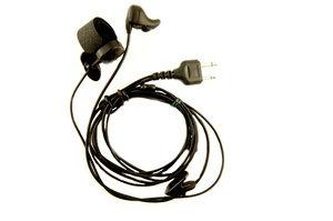 Öronbensmikrofon 2,5+3,5 Rak