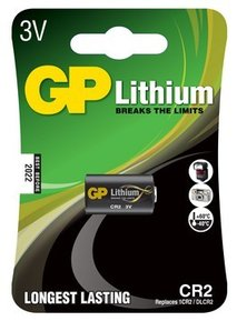 CR 2 batteri GP Lithium