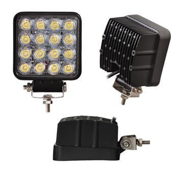 Superfynd! 10 pack 48W LED arbetsbelysning 60°  Totalt 30000 lumen 9-32V