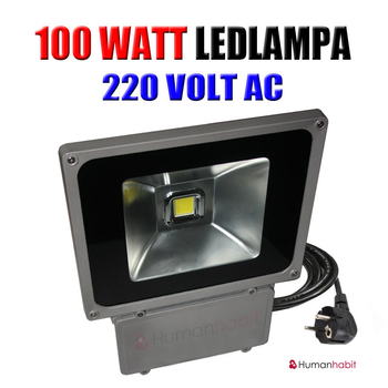 100 Watt Power LED 230 VAC