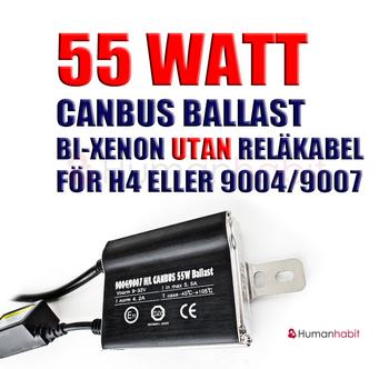 35 Watt Canbus ballast för bi-xenon utan reläkabel