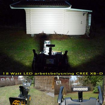 6 pack CREE XB-D - 2x18W LED miniatyr + 4x27W LED 12-24V