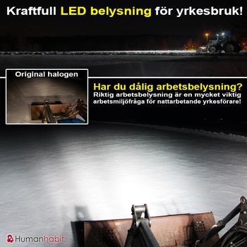 18W LED miniatyr valbar 20° spot & 90° flood 9-32V ECE R10 L0097