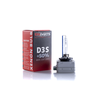 D3S 5000K e-märkt original Einparts Automotive® valbar Long Life Infinity och Extended +50% More Light