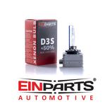 D3S 5000K e-märkt original Einparts Automotive® valbar Long Life Infinity och Extended +50% More Light