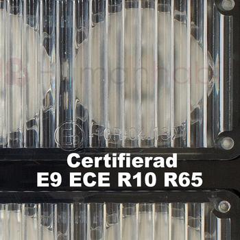 LED blixtljus 133x35mm ECE R10  R65 L2298-ALR