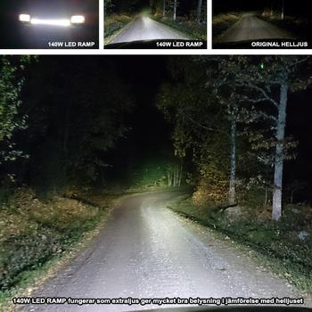 140W LED ramp 14x10W CREE XM-L T6 9-30V 11900Lm
