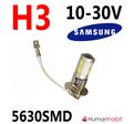 H3 dimljus 10 x 5630 SMD 10-30V