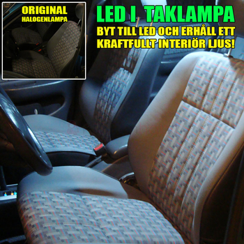 36mm spollampa Canbus med 15st 1210 SMD