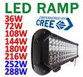 36-288W LED ramp 4 radig CREE XB-D generation 2