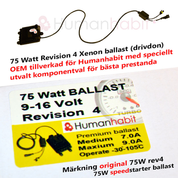 Ballast 75 Watt Extreme rev4