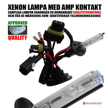 55w Slim Xenonkit för MC, ATV