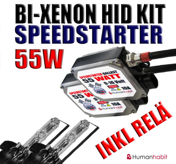 55w Bi-Xenon Speedstarter Kit