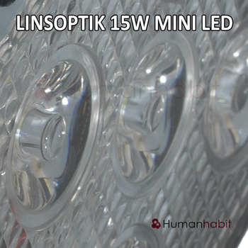 15W mini LED arbetsbelysning 60° 12-24V L0068F