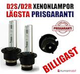 D2S/D2R xenonlampa 35 W