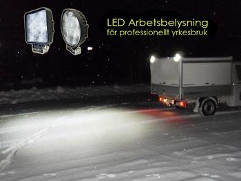 18W LED miniatyr 90° CREE XB-D 12-24V