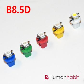 B8.5D styling med 1st 5050 SMD med valbara färger - 12 Volt