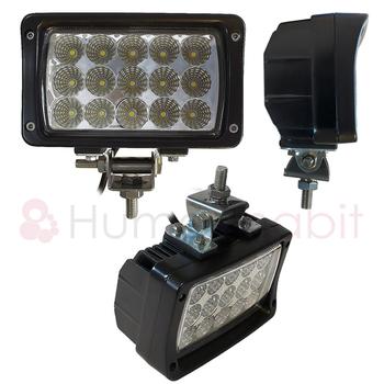 6 pack 45W LED arbetsbelysning 60° 9-32V - L0089