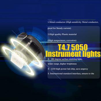 T4.7 Neo Wedge styling med 1st 1210 SMD med valbara färger - 12 Volt