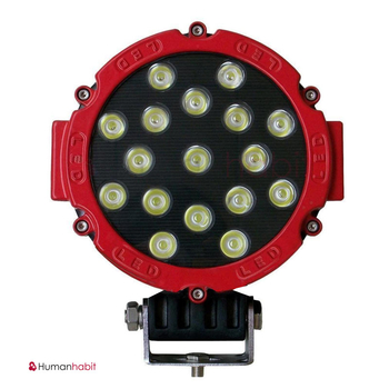 51 Watt LED arbetsbelysning