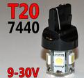 T20 med 8st 5050 SMD 10-30V