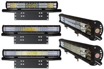 Supreme Series 7D LED extraljusramp 4-radig vidvinkel 9-32V