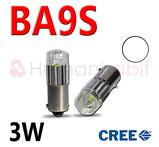 Ba9s kapslad 3 Watt CREE XB-D - Vit