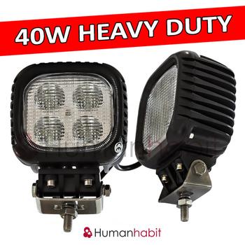 40W LED arbetsbelysning CREE 4-punkts upphängd