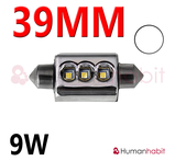 39mm spollampa Extreme 9W Canbus 2014 Vit