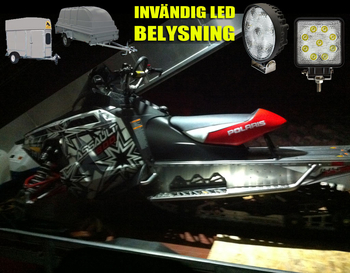 27W CREE LED arbetsbelysning valbar 30° och 60° 9-32V
