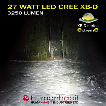 10 pack 27W LED flerpack rabattköp 60° CREE 12-24V