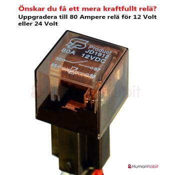 Fyrpack 80W LED extraljus CREE 28800 lumen