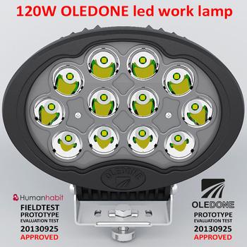 120W CREE LED arbetsbelysning OLEDONE 9-32V