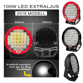 100W LED extraljus Extreme Series 9-32V