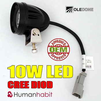 10W CREE LED miniatyr OLEDONE 9-50V