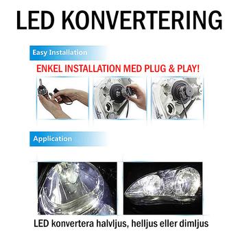 LED konvertering 2400 lumen CREE exclusive