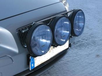 Quick-Light toppstag för extraljusmontage